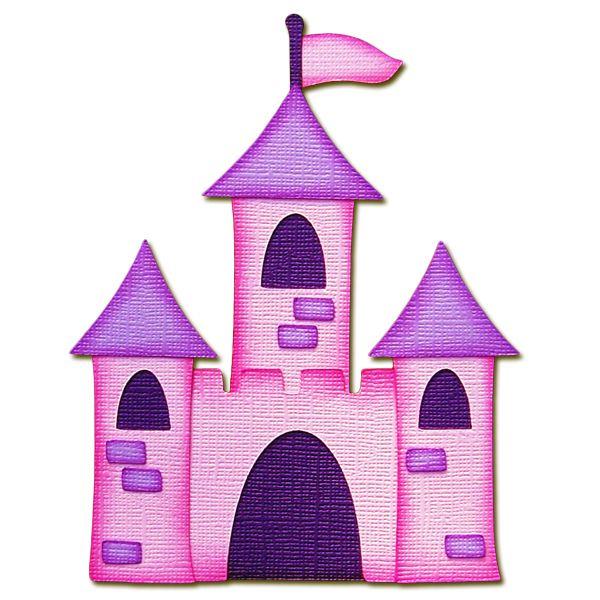 600x600 Purple Clipart Castle