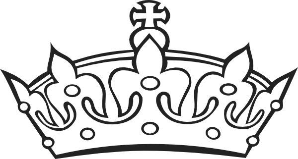 600x321 Crown Outline Crown Outline Clip Art