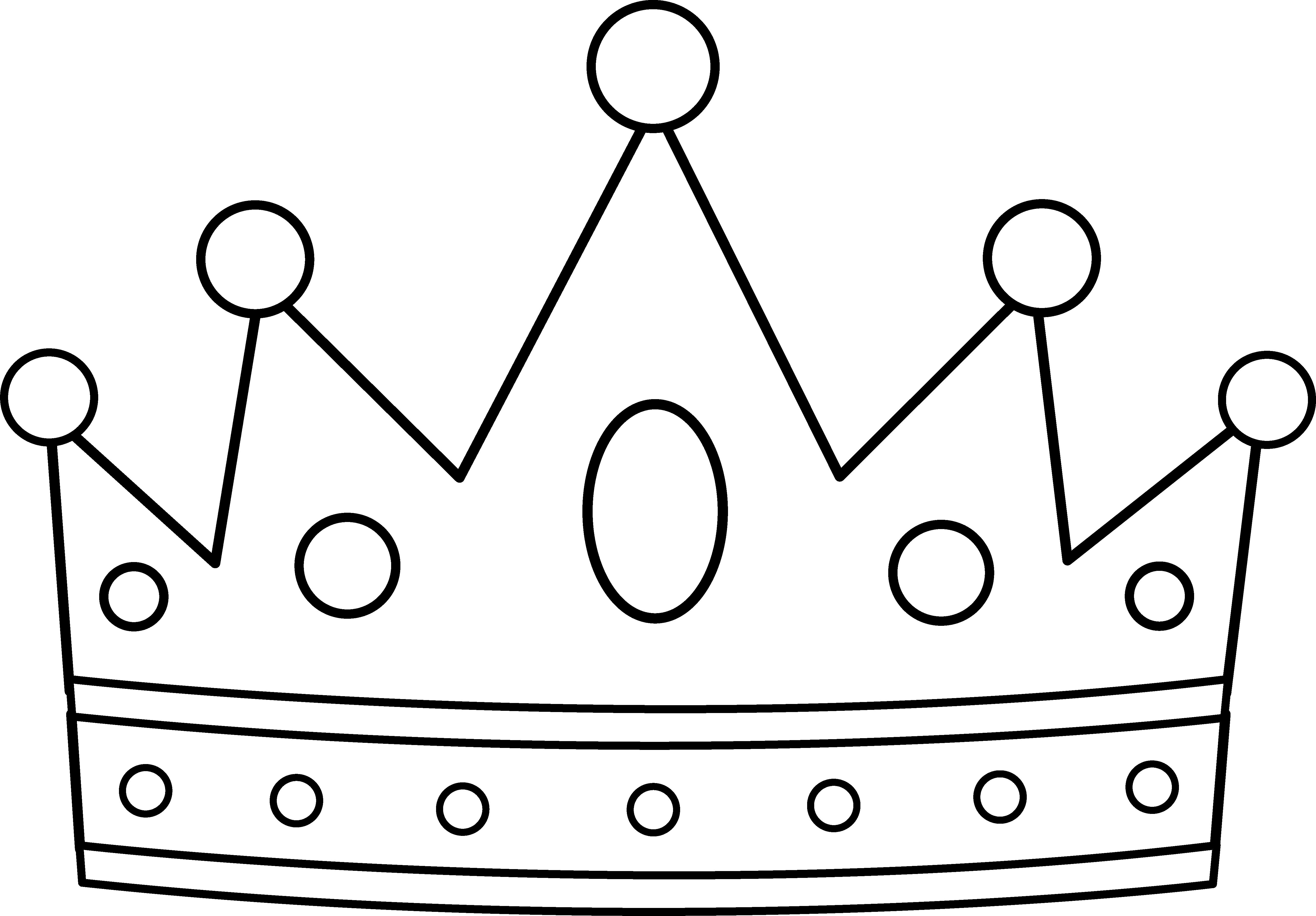 5387x3750 Fresh Decoration Crown Coloring Pages 15 Page To Print Color Craft