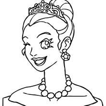 220x220 Princess Coloring Pages