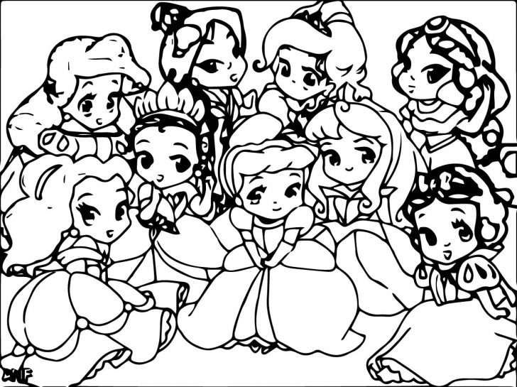 728x545 Animals All Princess Coloring Pages. Disney All Princess Coloring