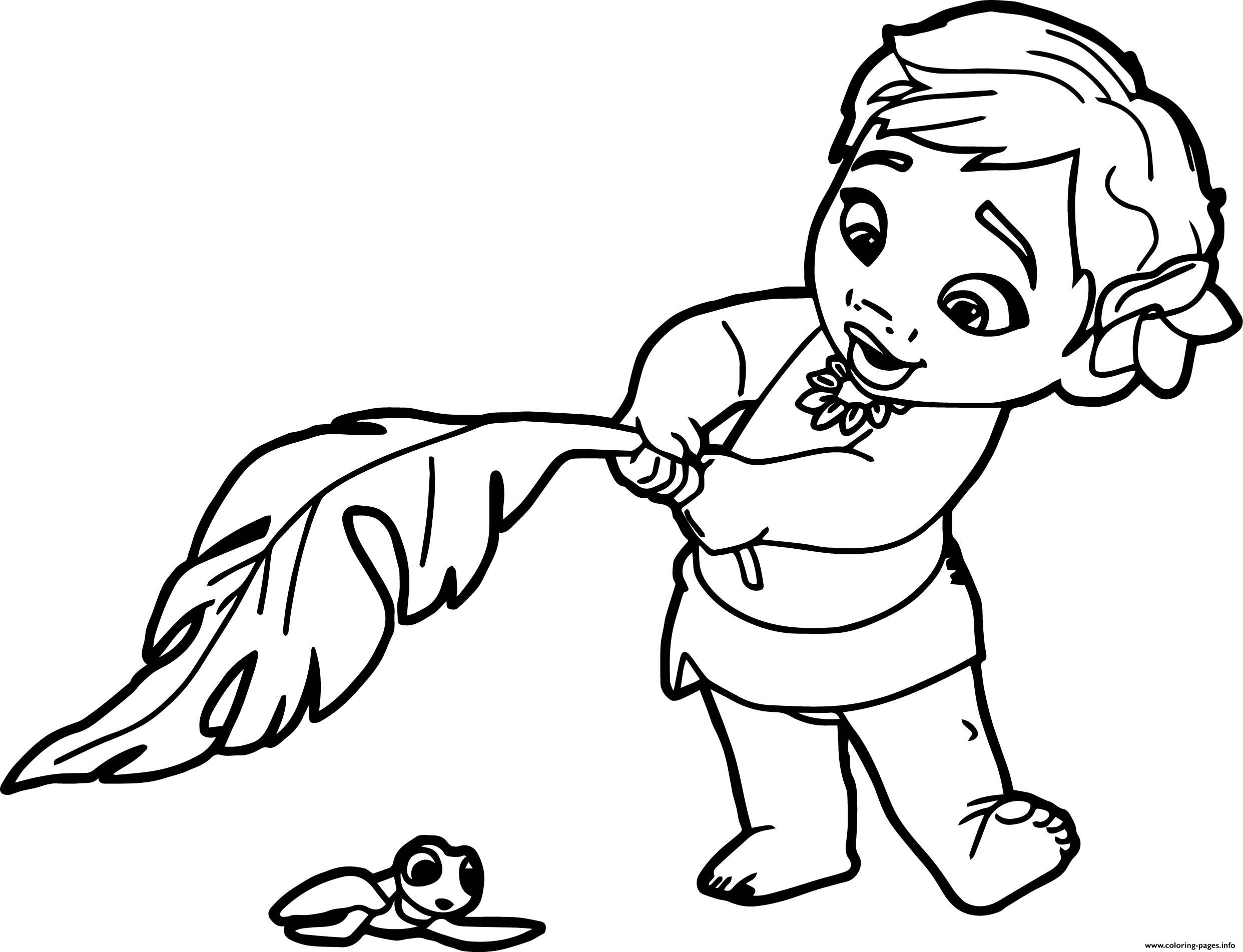 2484x1903 Print Baby Moana Princess Disney Coloring Pages Magic