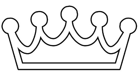 550x295 Crown Black And White Princess Crown Clipart Black And White