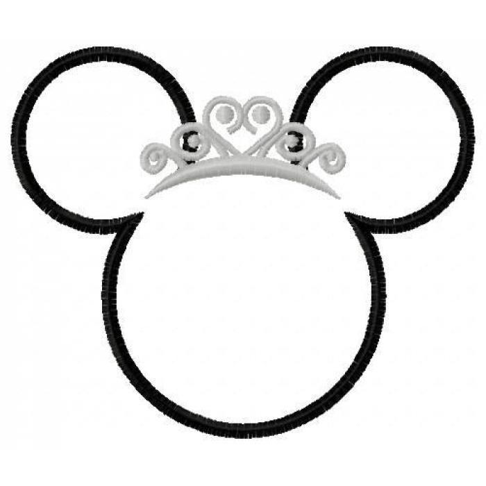 700x700 Drawn Crown Disney Princess