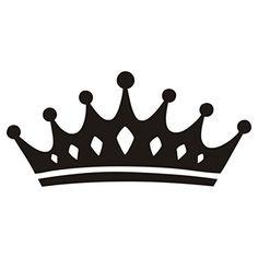 236x236 Queen Bee Vinyl Wall Decal Sticker Sign Crown Teen Bedroom