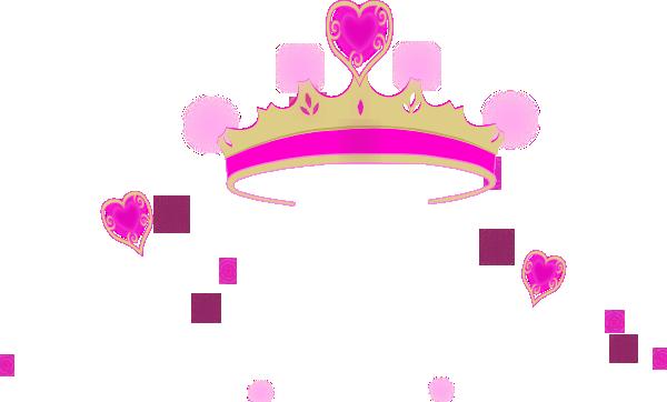 600x362 Princess Crown Pink Heart Clipart