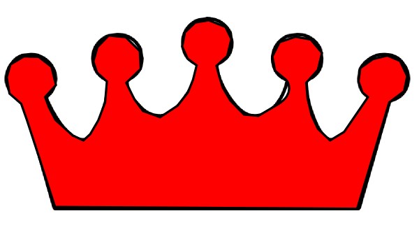 600x322 Crown Outline Clip Art