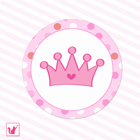 570x570 Pink Princess Crown Clipart