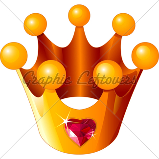325x325 Princess Crown On The Pink Pillow Gl Stock Images