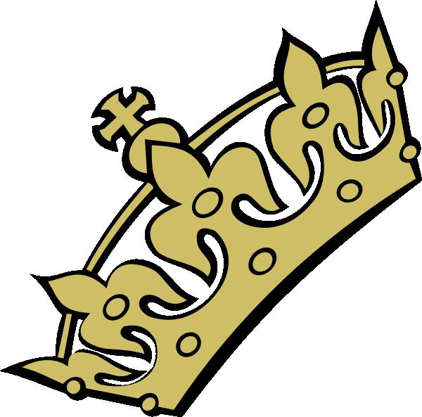 600x593 Gold Tiara Princess Clip Art