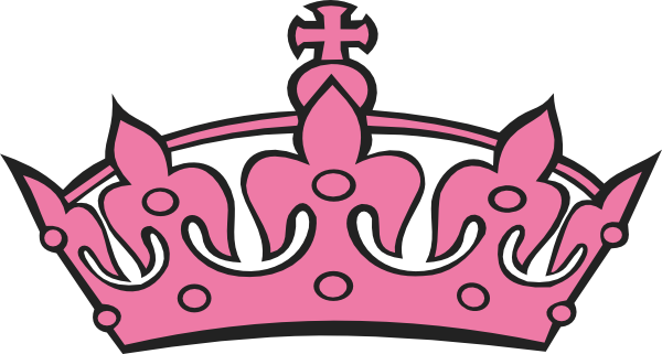 600x321 Pink Princess Crowns Logo Free Clipart Images 4