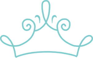 300x187 Princess Crown Blue Png, Svg Clip Art For Web