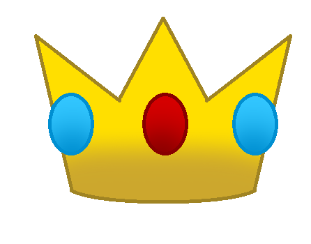 446x350 Princess Peach Clipart Crown