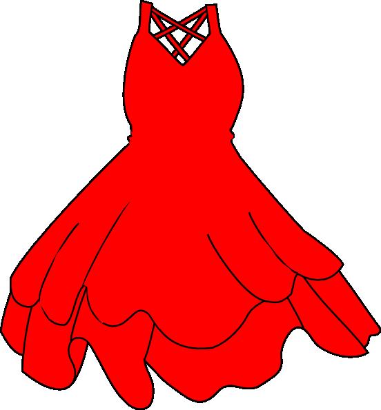 552x595 Princess Dress Clipart