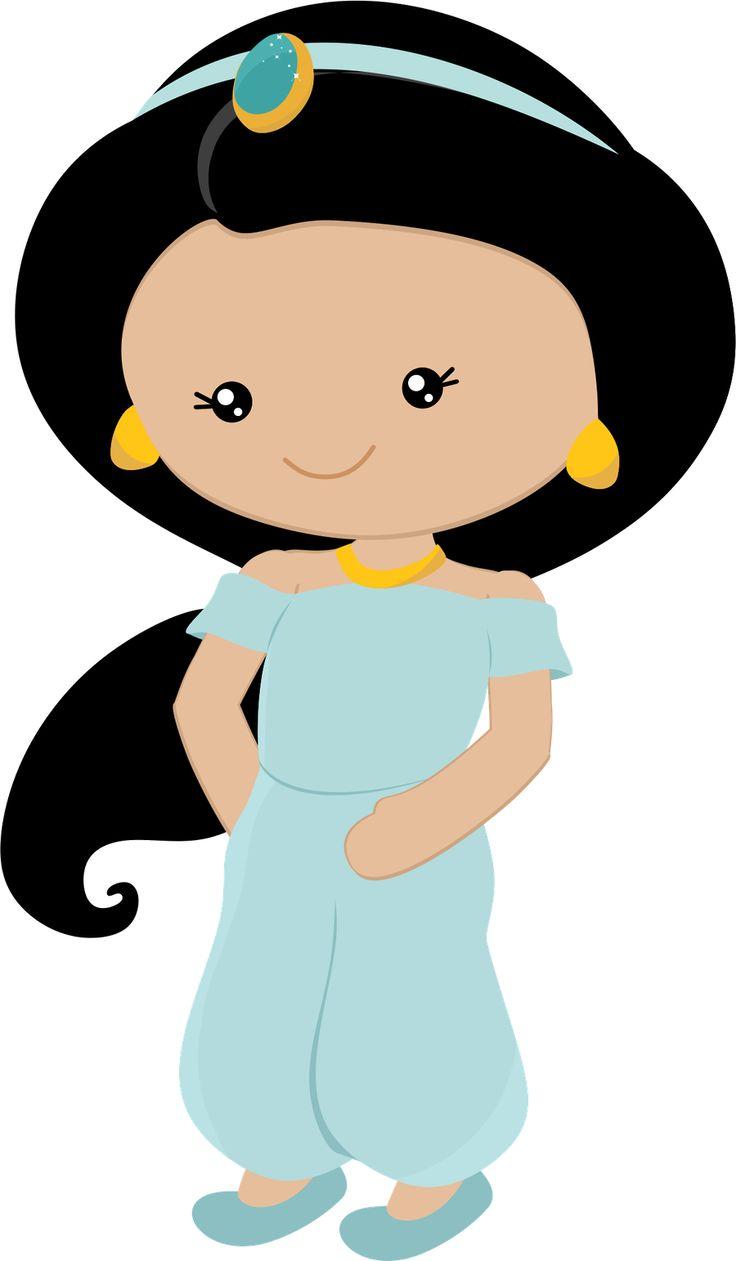 Princess Jasmine Clipart