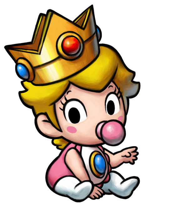 550x670 Even As An Infant, Peach Is Made To Look Pretty In Pink. In Super