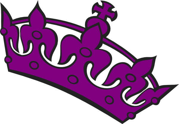 600x416 Purple Tilted Tiara Clip Art