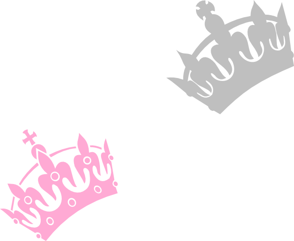 600x491 Silver Princess Crown Clipart