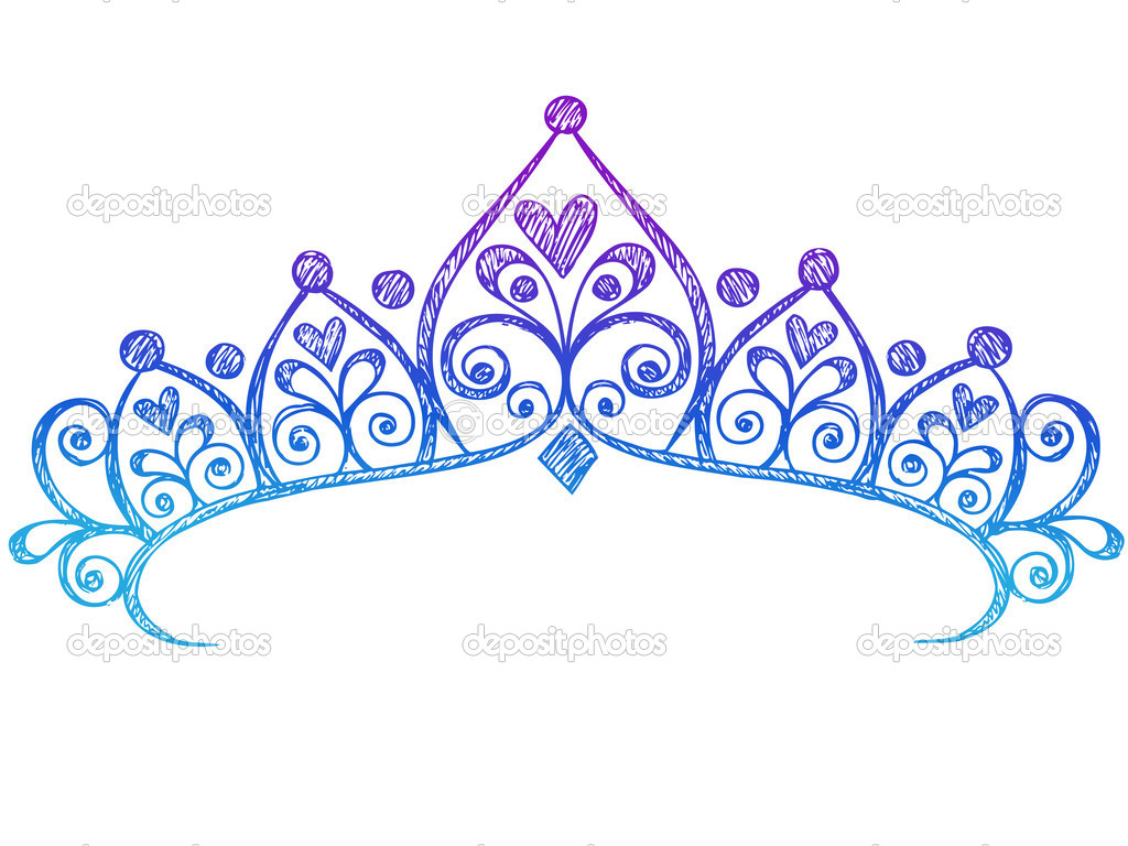 1024x768 Princess Tiara Vector