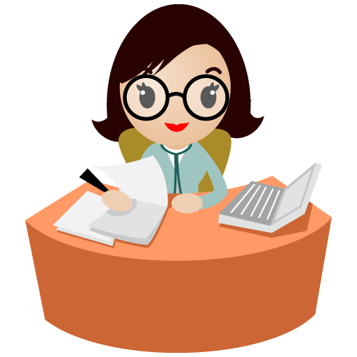 512x512 Office Clipart Personal Assistant
