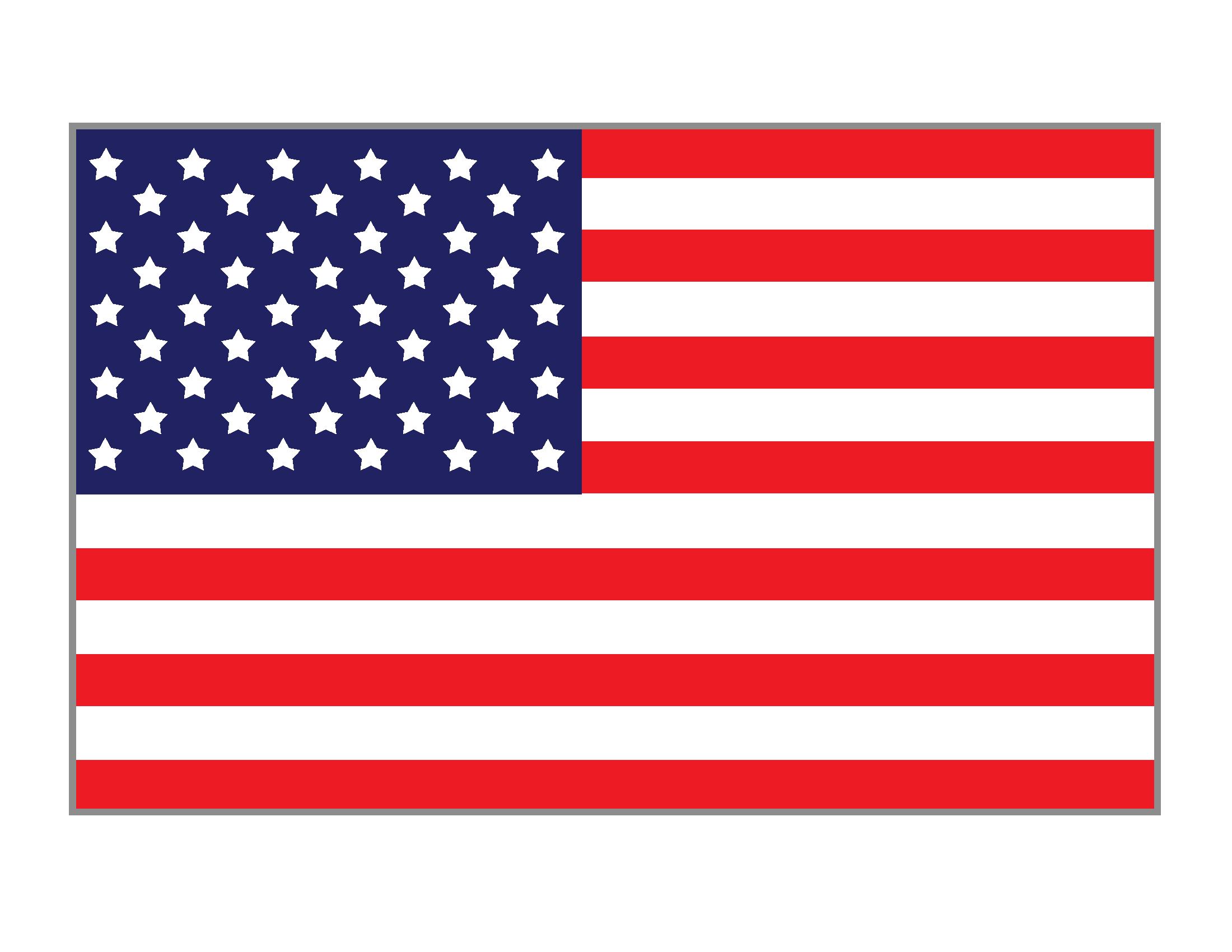 2200x1700 American Flag Printables