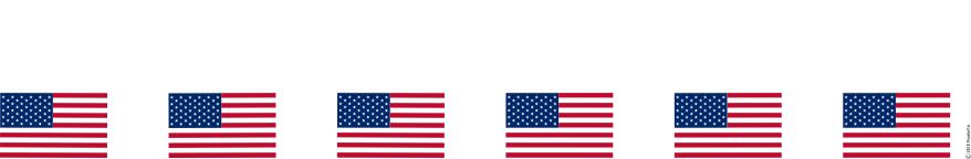 878x144 American Flag Borders Clipart