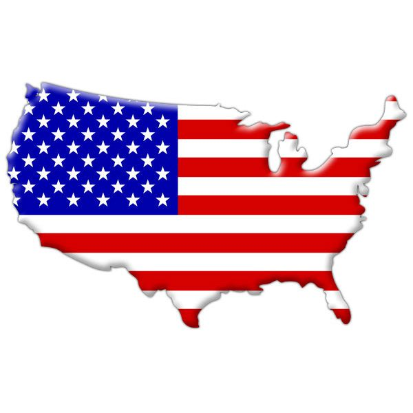 600x600 Printable American Flag Outline New In Design Tablet