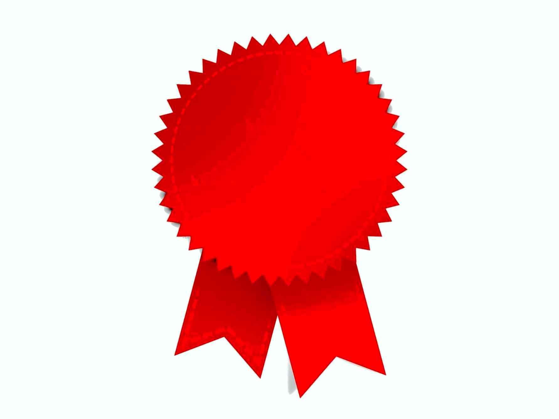 1782x1337 Award Ribbons Template