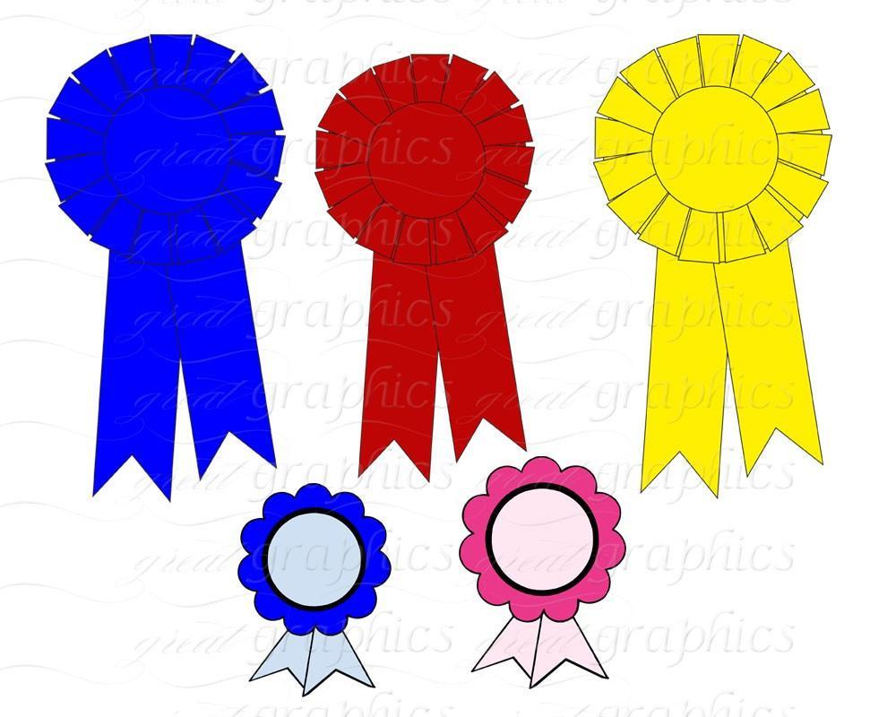 1000x800 Banner Clip Art Banner Digital Clipart Award Ribbon Printable
