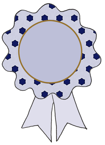 369x510 5 Best Images Of Award Ribbons To Print