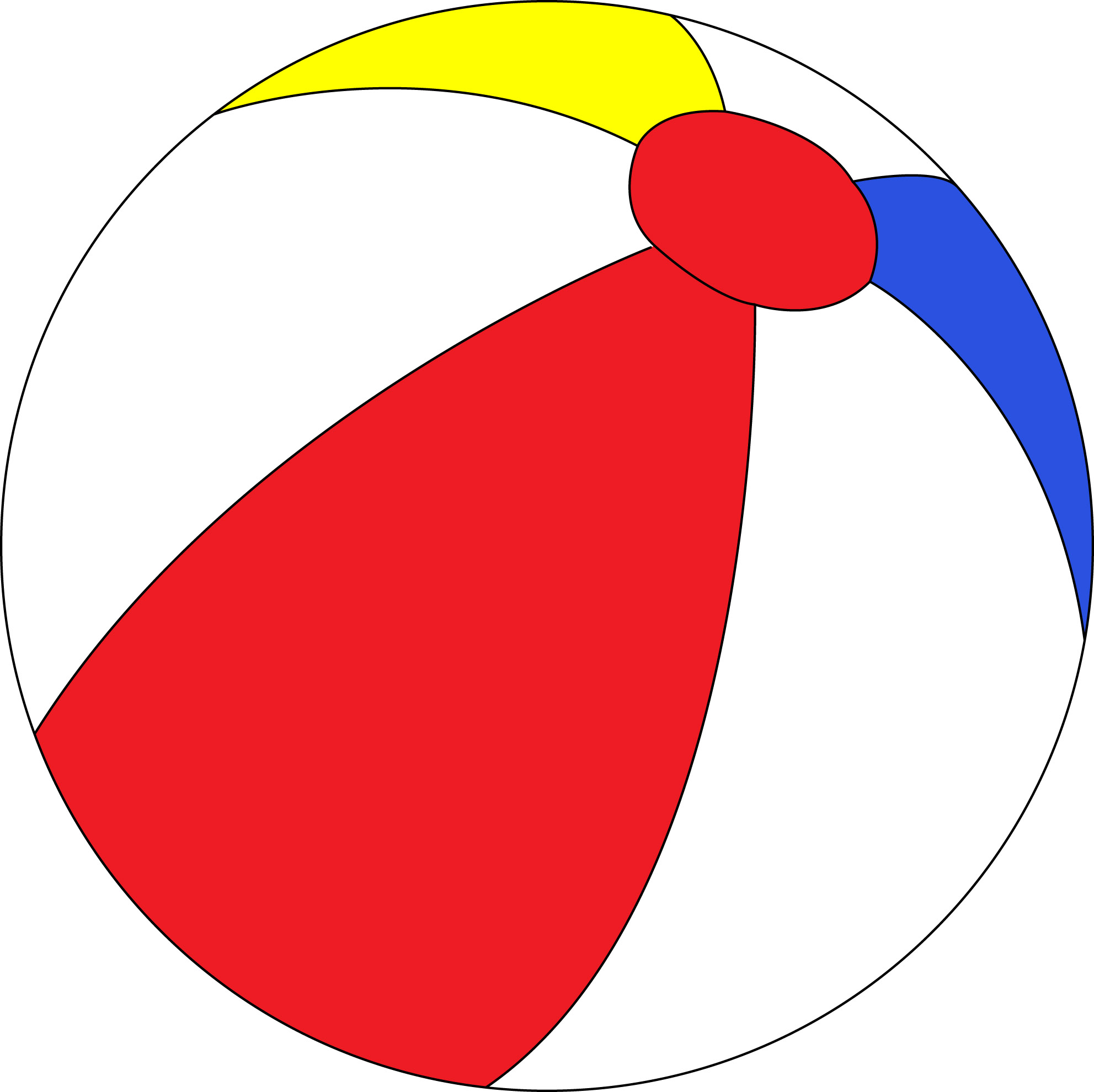 1983x1979 Free Beach Ball Clip Art Pictures