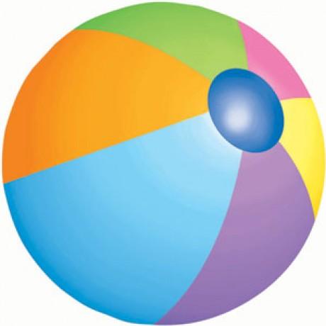 460x460 Printable Beach Balls Clipart