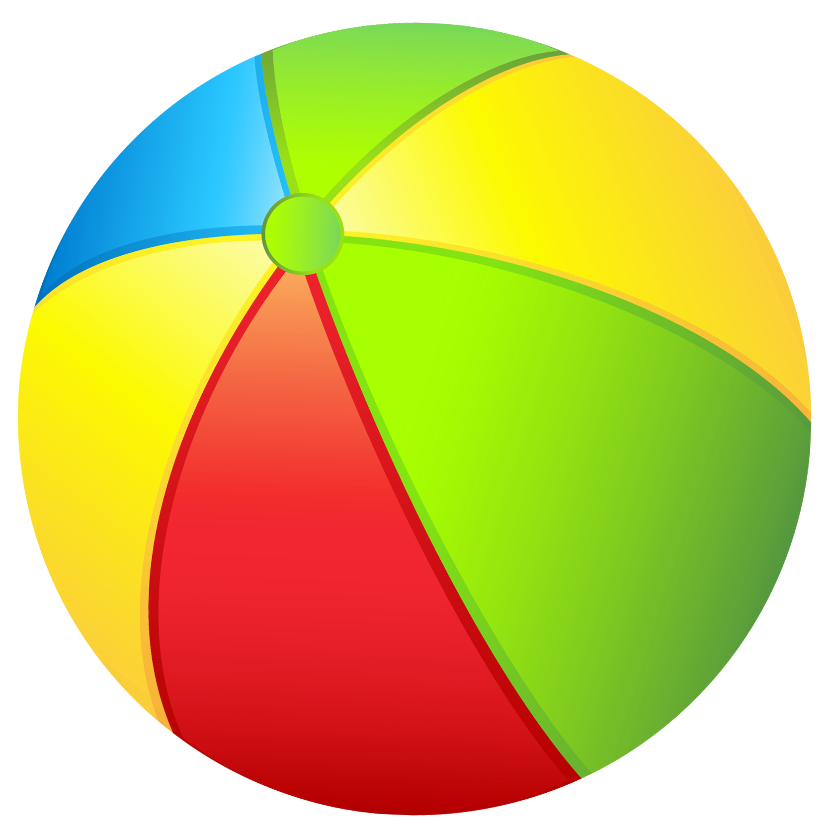 1660x1665 Ball Clipart Colored