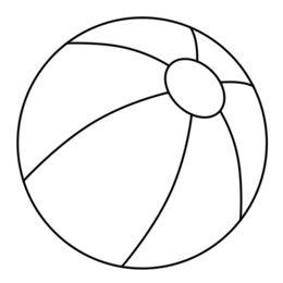 260x260 Balls Outline Cliparts 176937