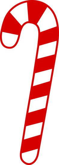 Printable Candy Cane