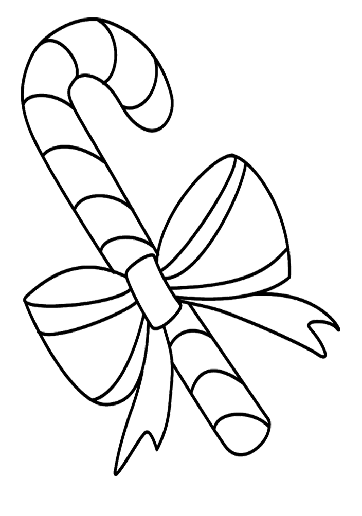 704x1004 Free Candy Cane Coloring Pages To Print