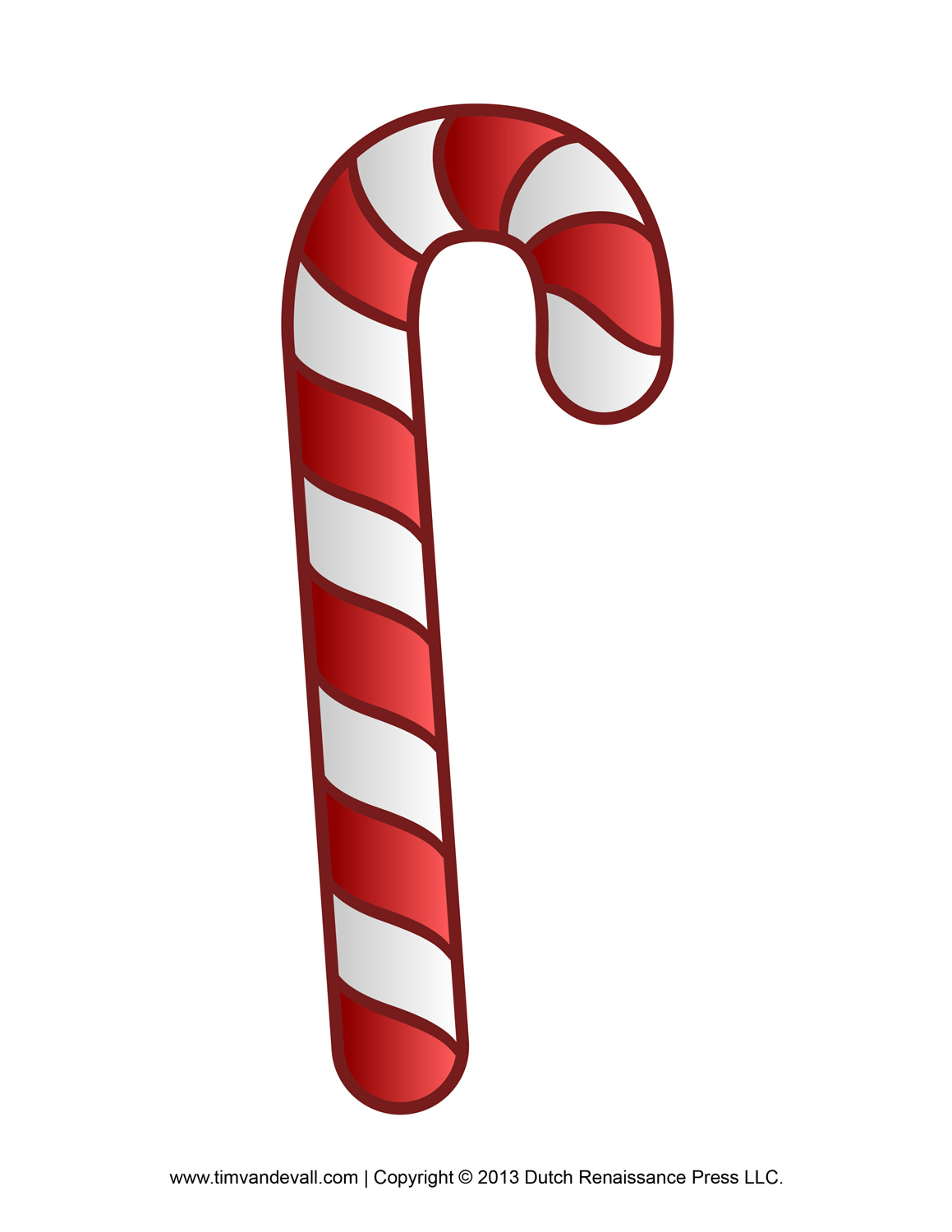 1159x1500 Free Candy Cane Template Printables Clip Art