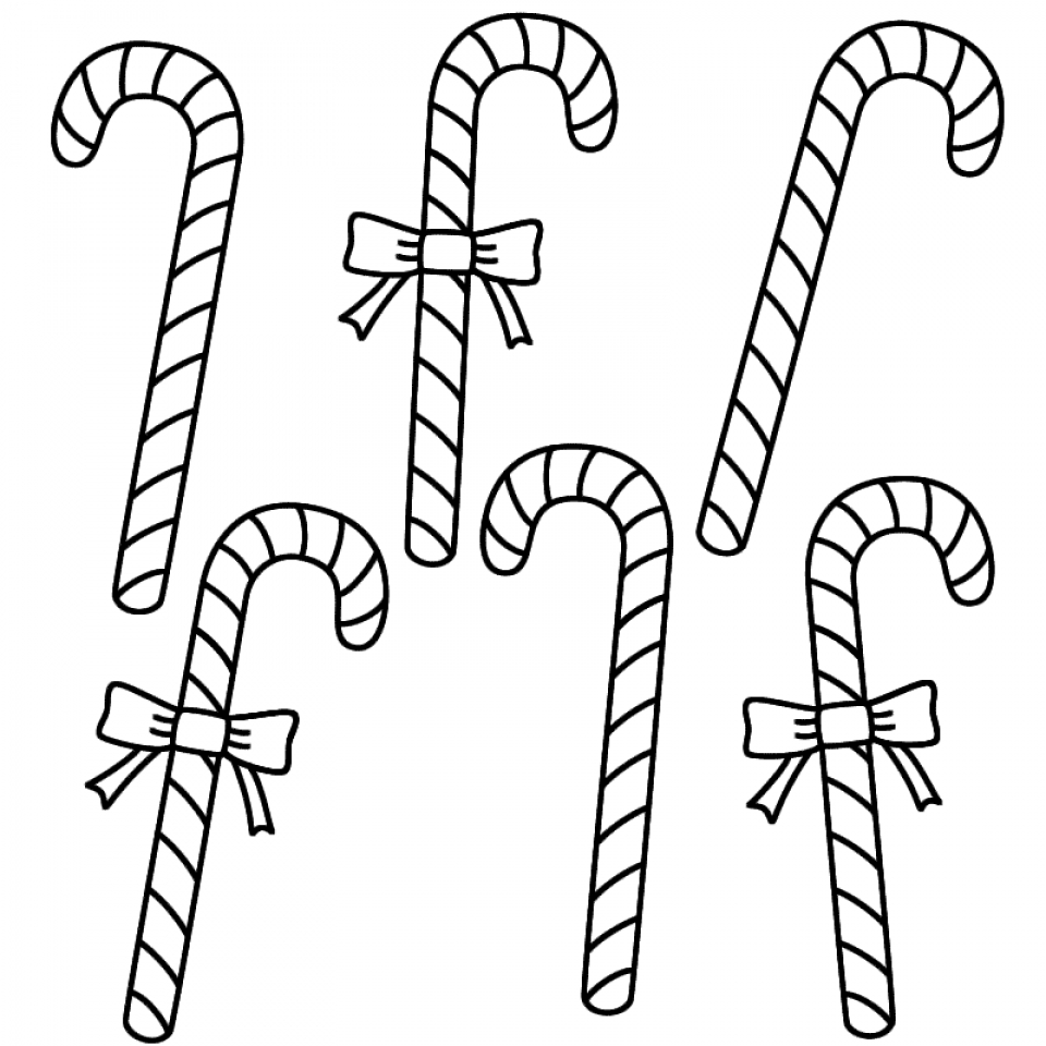 960x960 Get This Easy Printable Candy Cane Coloring Page For Children 73604 !