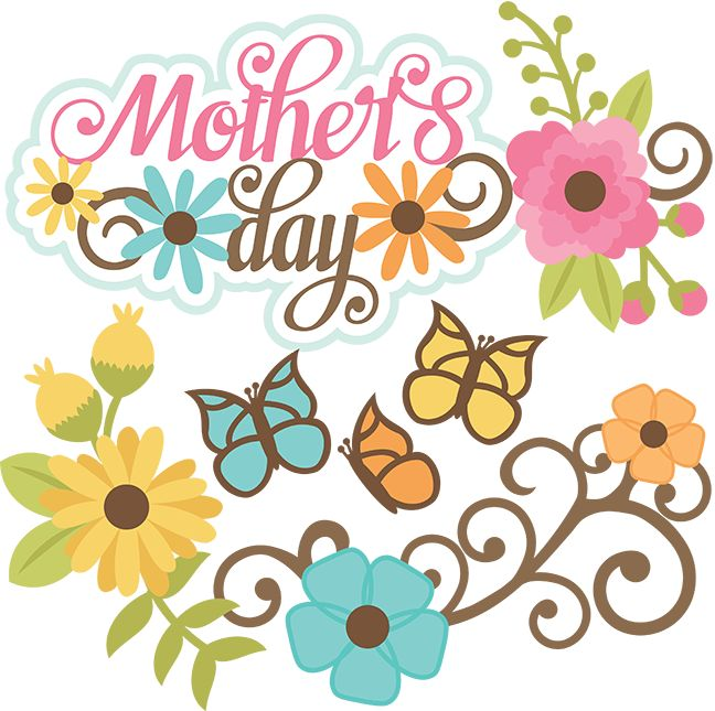 648x645 Free Printable Mother's Day Clip Art