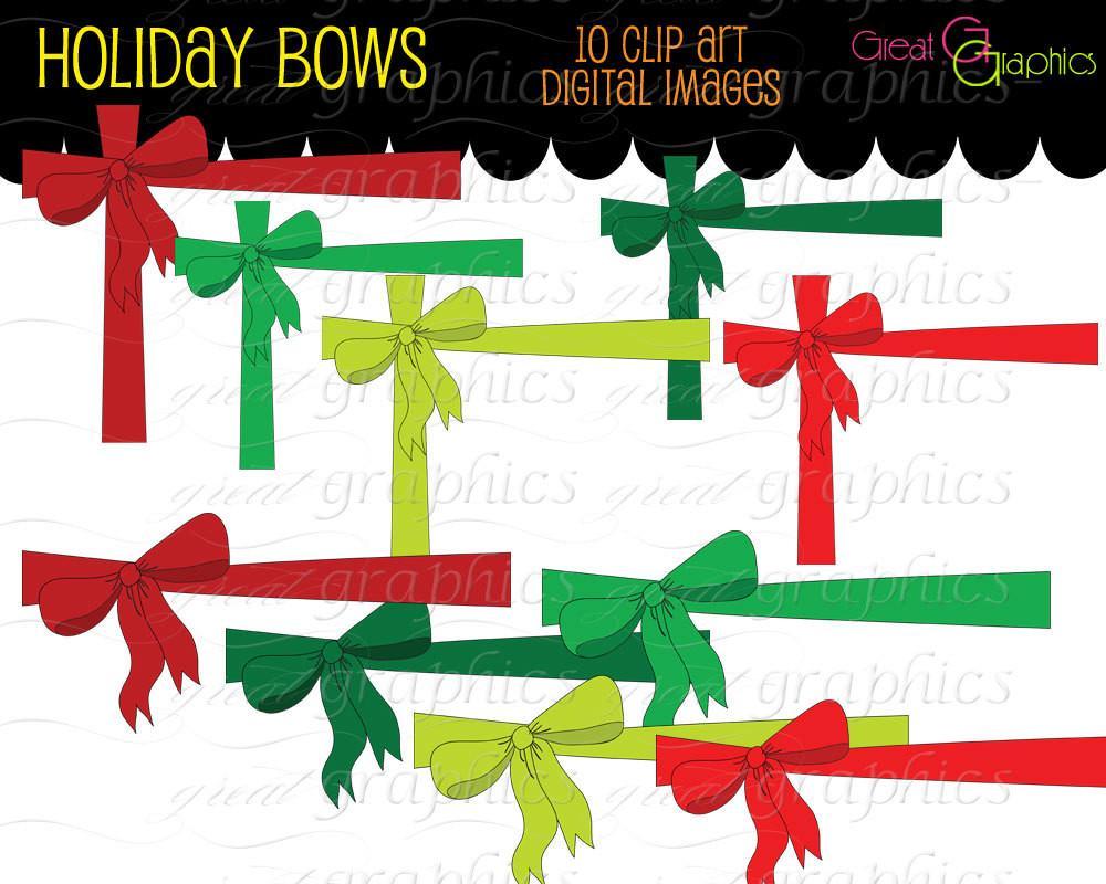 1000x800 Christmas Bow Digital Clip Art Christmas Printable Clipart Clip