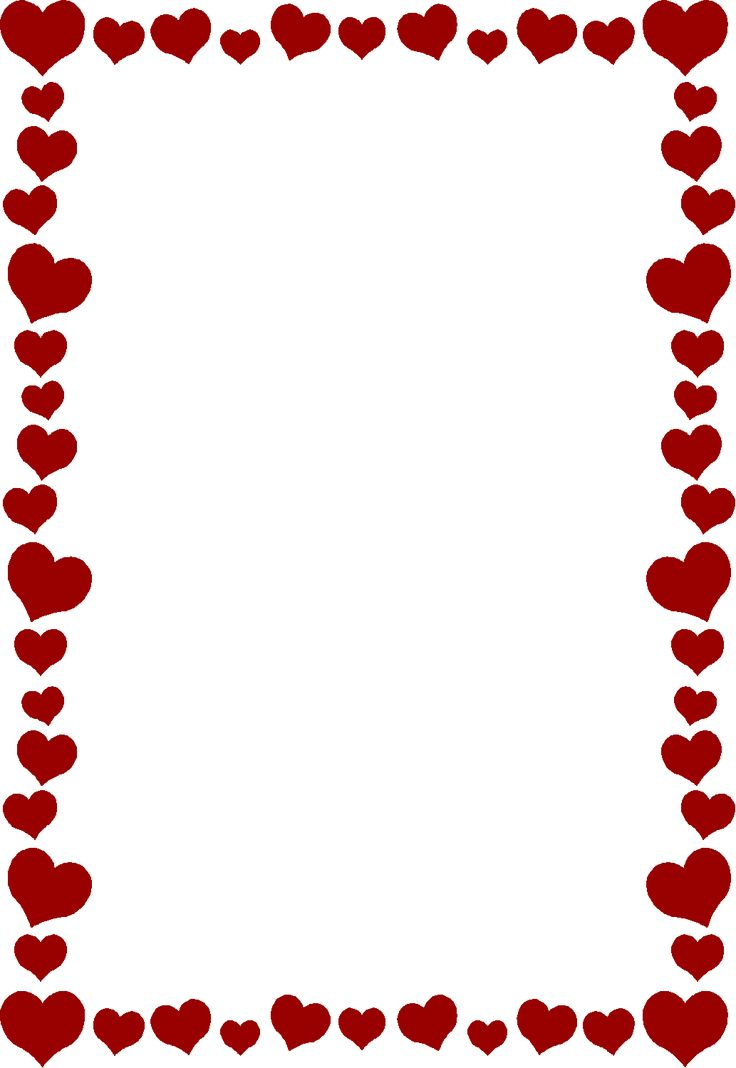 736x1068 51 Best Heart Borders Images Free Printables, Amor