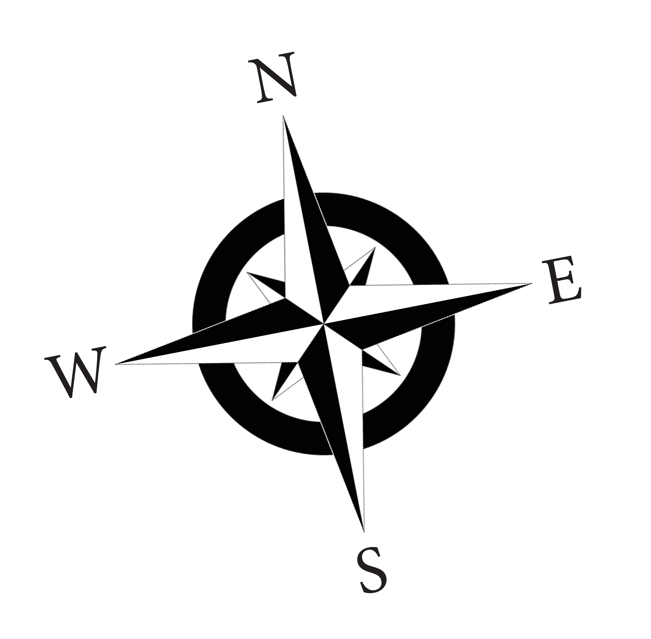 2550x2504 Compass Rose Clipart