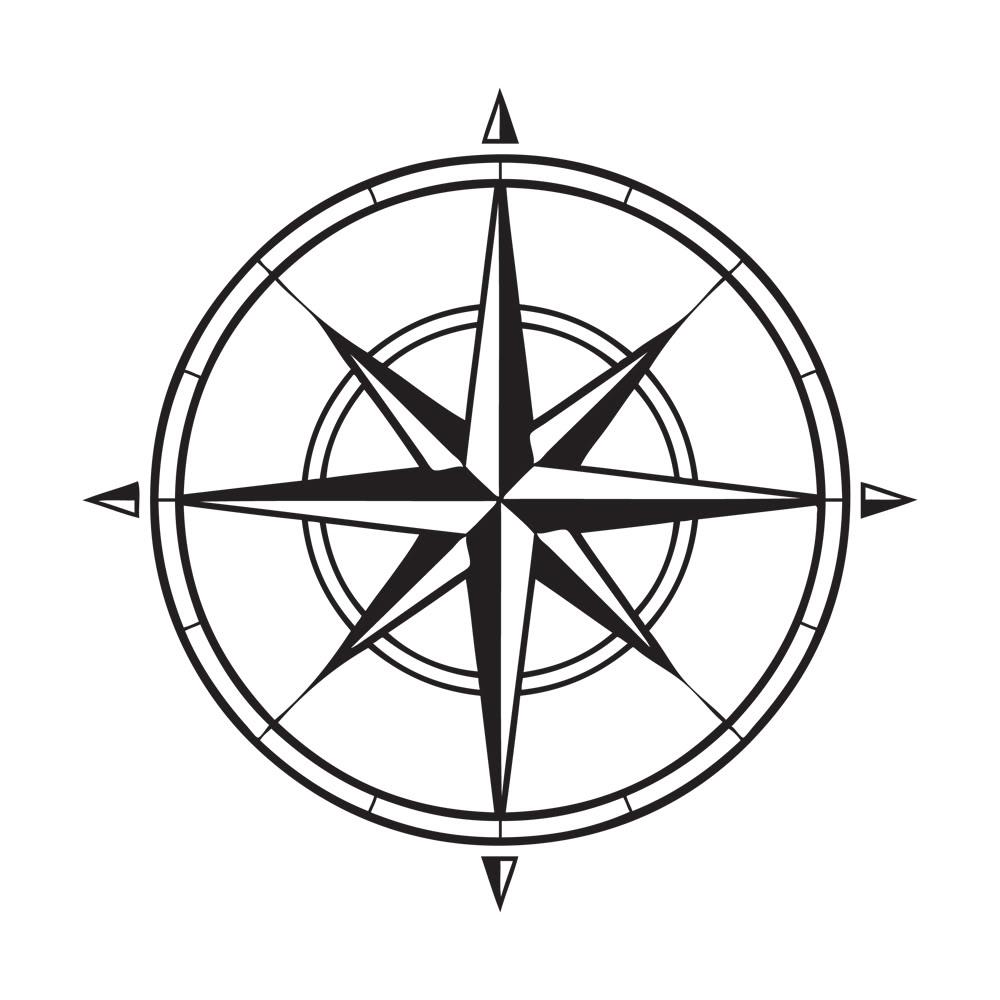 1000x1000 Compass Clip Art Free Pass Rose Andpass