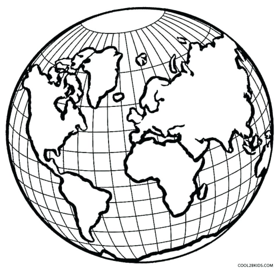 Printable Earth Coloring Pages | Free download best Printable Earth ...