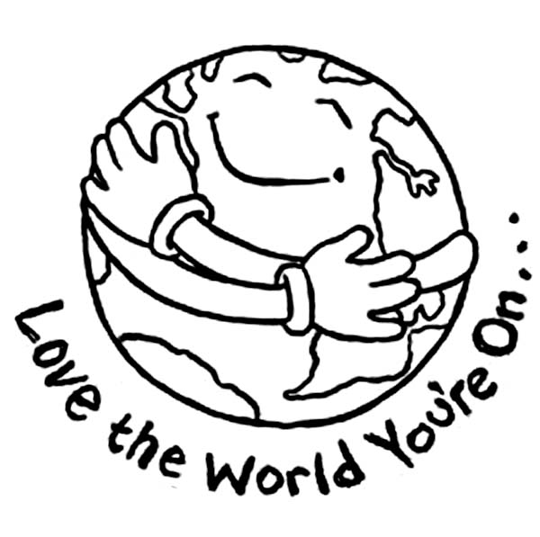 600x597 Printable Earth Day Coloring Pages Coloring Me