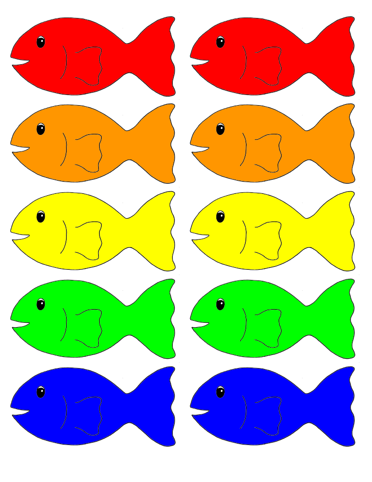 This is a graphic of Free Printable Fish in valentine