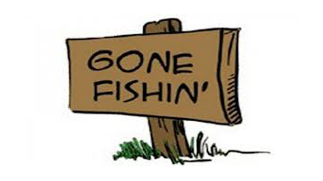 1280x720 Gone Fishing Clipart