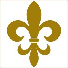 236x236 Fleur De Lis Pattern. Use The Printable Outline For Crafts