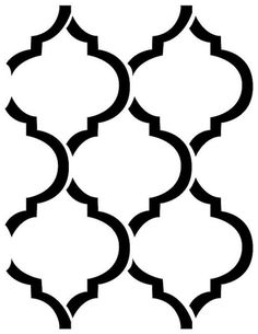236x305 Moroccan Pattern. Use The Printable Outline For Crafts, Creating