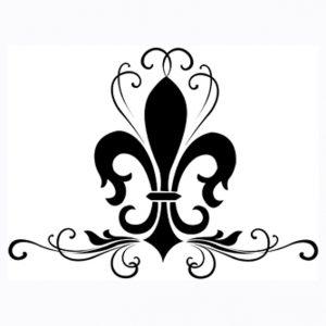 300x300 Winsome Design Fleur De Lis Clip Art Printable Stencil Clipart 2
